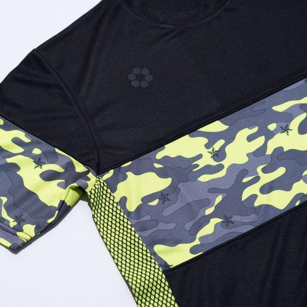 sfida スフィーダ 2019 春夏 スターカモプラクティスシャツ