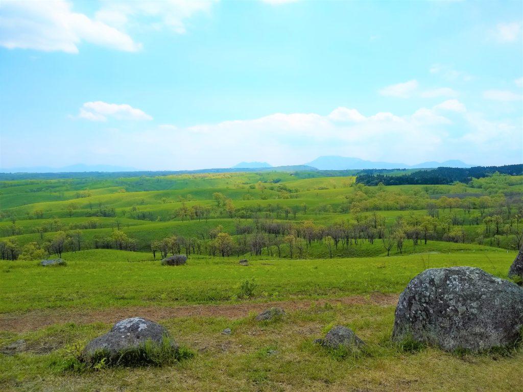 押戸石の丘からの眺望