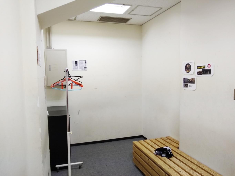 ミヤモトフットサルパーク日比谷シティの更衣室