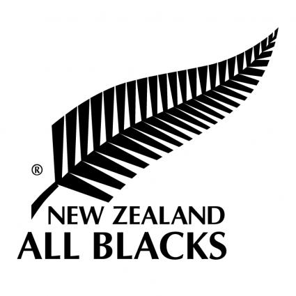 ニュージーランド「オールブラックス」のエンブレム