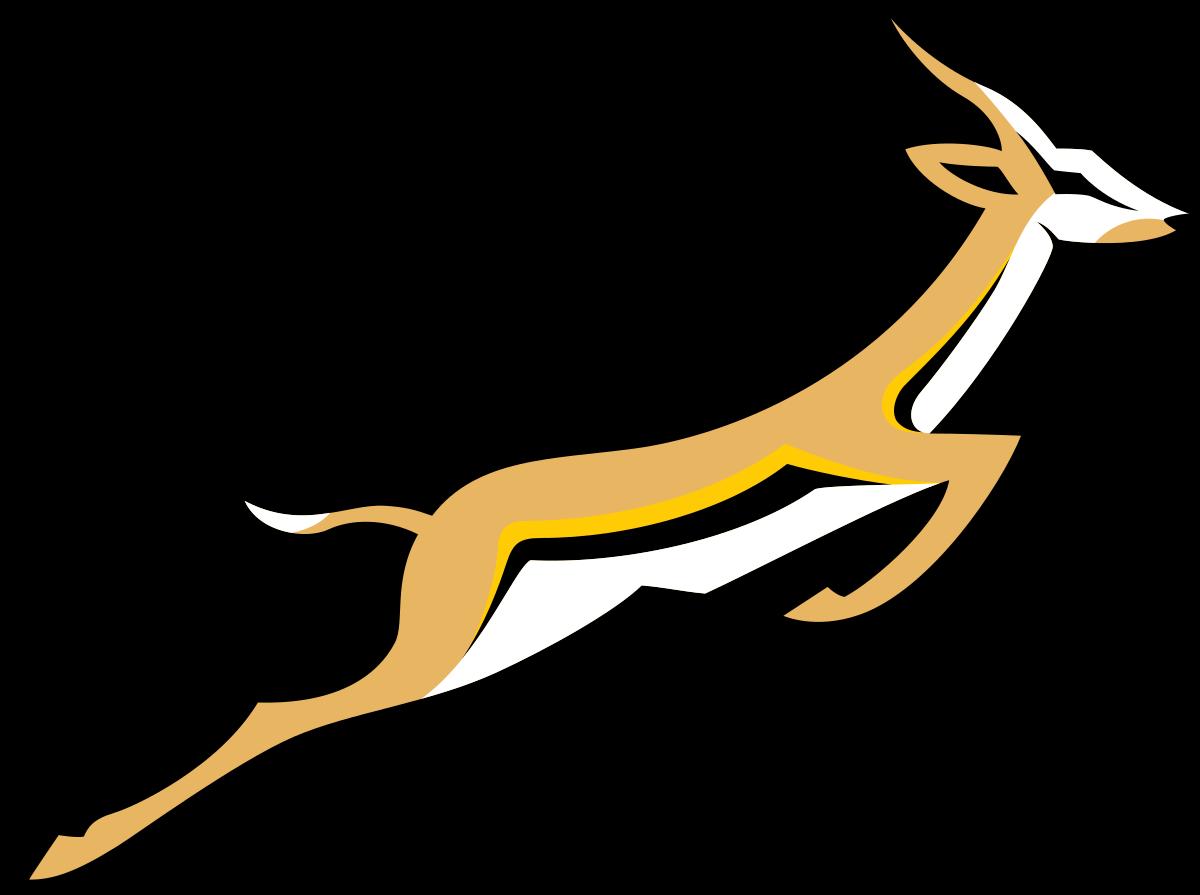 南アフリカ共和国「スプリングボクス」のエンブレム