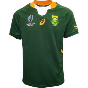 ラグビーワールドカップ2019の南アフリカのユニフォーム(アウェイ)