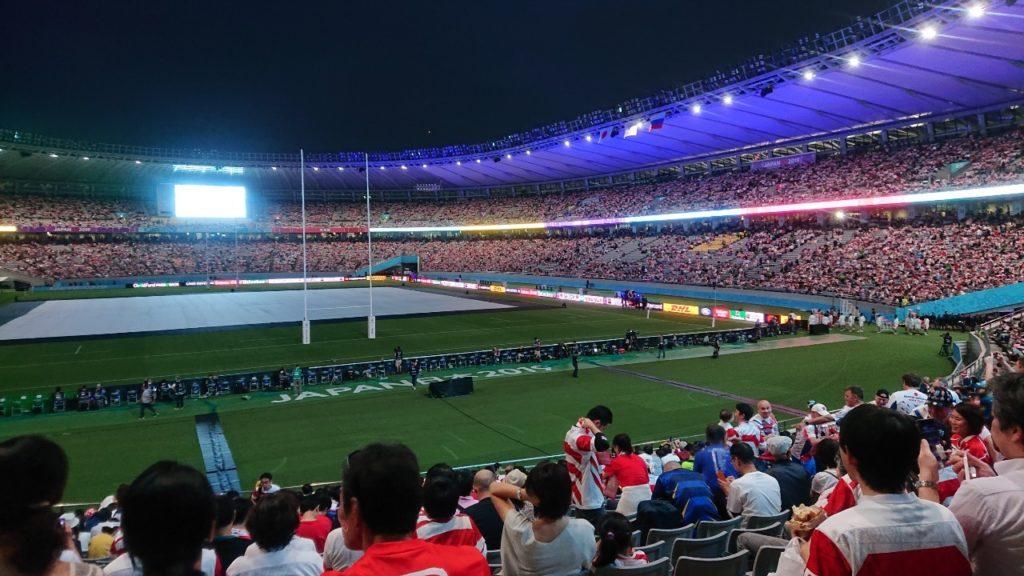 ラグビーワールドカップのフードドリンク情報東京スタジアムの開幕戦