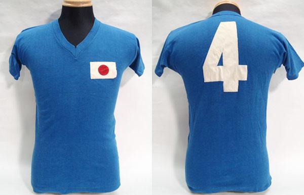 1964年東京オリンピックのサッカー日本代表ユニフォーム
