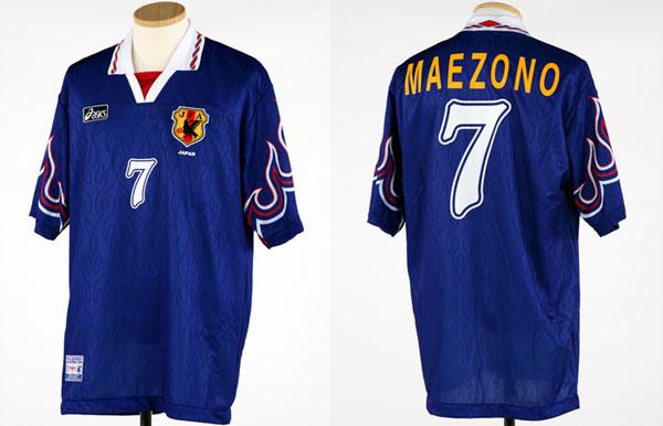 アトランタオリンピックのサッカー日本代表ユニフォーム