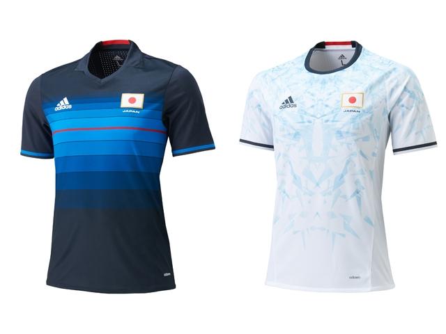 リオデナジャネイロオリンピックのサッカー日本代表ユニフォーム