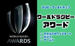南アフリカが最多受賞。日本は惜しくも監督賞・チーム賞を逃す|ワールドラグビーアワード2019【ラグビーワールドカップ】